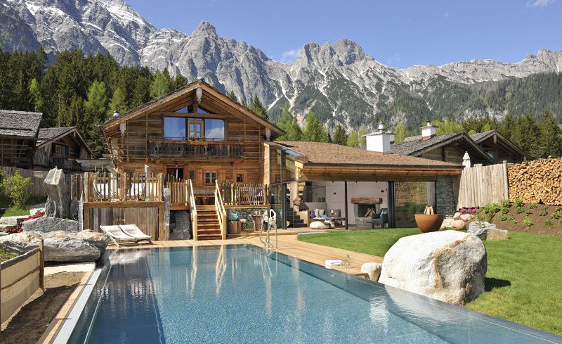 Sommerurlaub in den Bergen im Bergdorf Priesteregg in Leogang