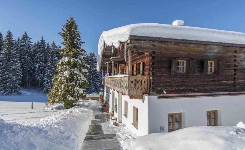 Ein Bauernhaus als Alpenchalet- der ideale Ort für einen geselligen Hüttenurlaub in Salzburg