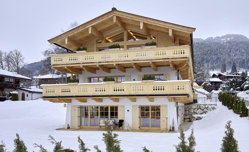 Luxus-Chalet Tennerhof für den perfekten Skiurlaub in Tirol