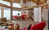 Die Löwen Chalets bieten einen Wohlfühl-Wohnbereich mit offener Küche, der keine Wünsche offen lässt