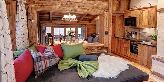 Das Highking Chalet Grünegg im Salzburger Land sorgt für eine angenehme Wohlfühlatmosphäre