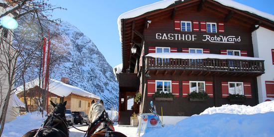 Winterzauber im Gasthof Rote Wand am Arlberg