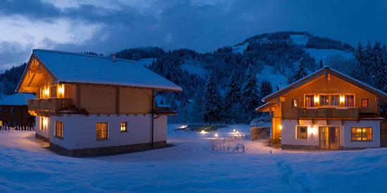 Verbringen Sie Ihre Auszeit im Winter in den Chalets Lehenriedl in Wagrain