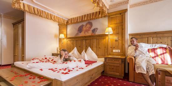 Romantik pur in der Engerl Suite
