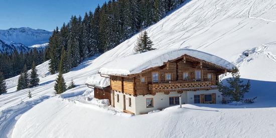 Winterurlaub und Skiurlaub in der Wallegg Lodge direkt an der Piste der Skiregion Saalbach Hinterglemm in Salzburg