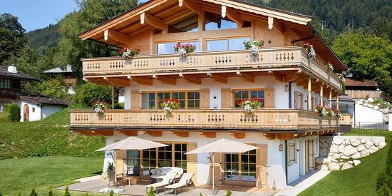 Chalets in den Kitzbüheler Alpen - Tennerhof Chalets und Lodges