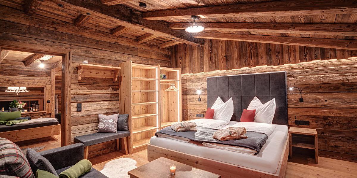 Das Highking Chalet Grünegg  besticht mit modernen und luxuriösen Zimmern