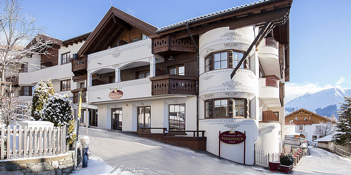 Winter Ansicht des Hotel Toalstocks