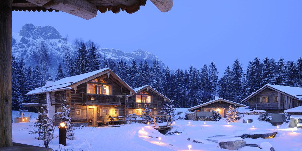 Winterdorf Priesteregg in Leogang- hier wird Ihr persönliches Wintermärchen wahr