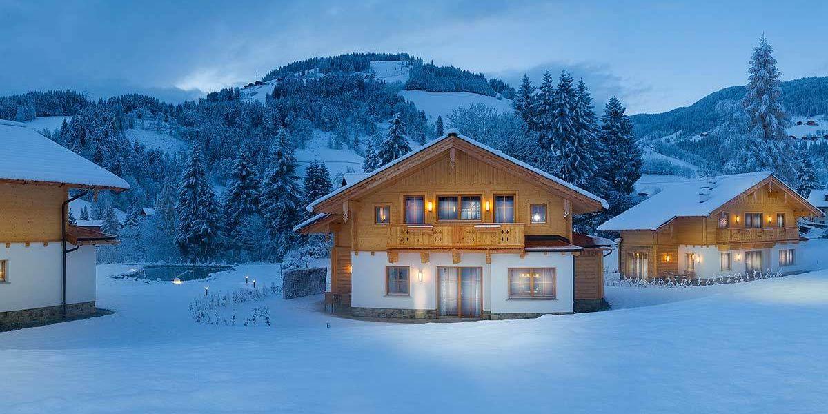 Erleben Sie Ihr Wintermärchen im verschneiten Salzburg in einem der edlen Lehenriedl Chalets