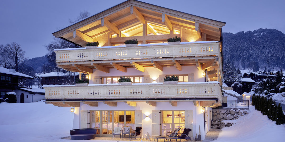Luxus-Chalet für den Skiurlaub mit der ganzen Familie in Kitzbühel